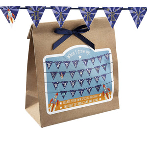 Personalised Bunting Rocket