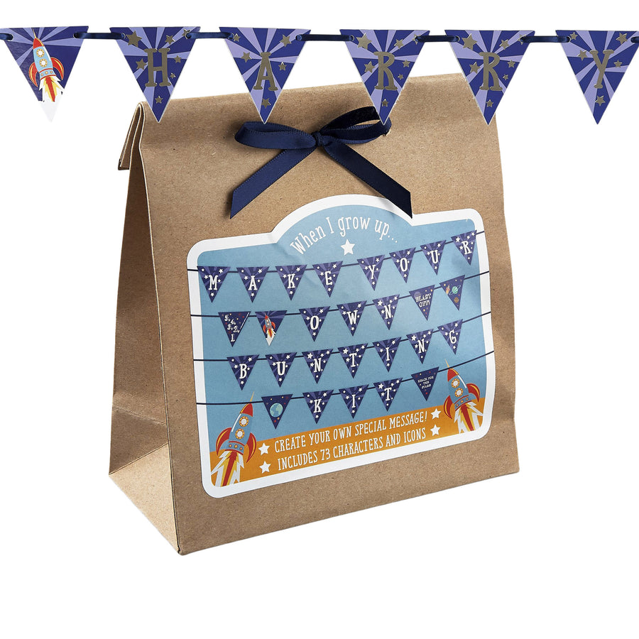 Personalised Bunting - Rocket