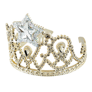 Dress Up Gold Star Tiara