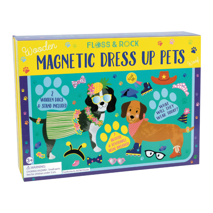 Wooden Magnetic Dress Up - Pets