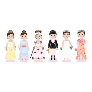 Wooden Magnetic Dress Up Doll - Charlotte