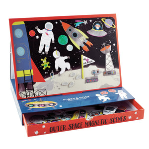 Magnetic Play Scenes - Space