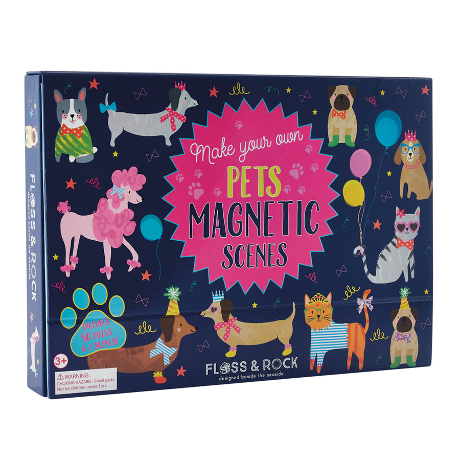 Magnetic Play Scenes - Pets