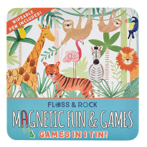 Jungle Magnetic Fun & Games