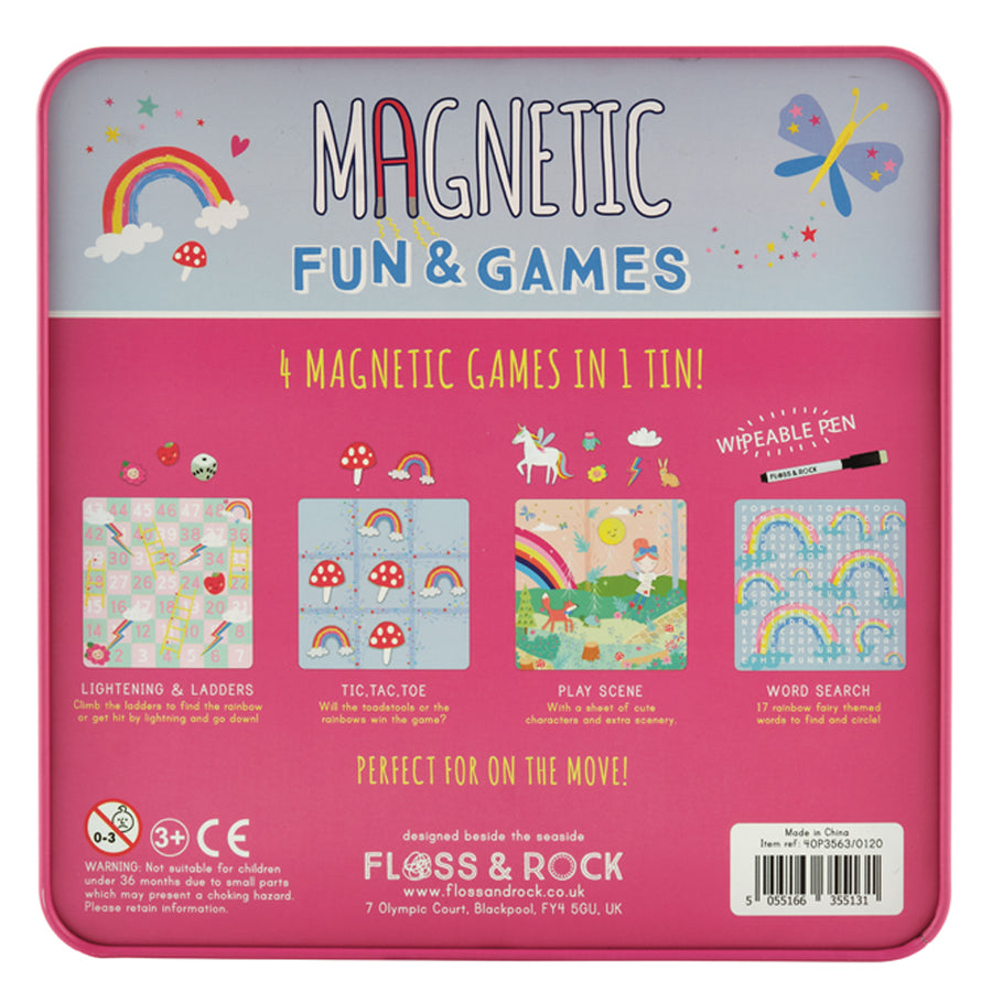 Magnetic Fun & Games - Rainbow Fairy
