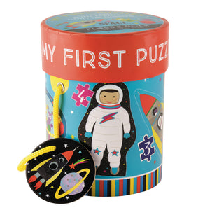 Space First Puzzles 3, 4, 6 & 8 Piece