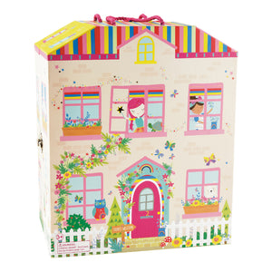 Play Box with Wooden Pieces - Rainbow Fairy