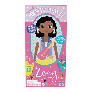 Wooden Magnetic Dress Up Doll - Zoey