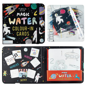 Magic Colour Changing Water Cards - Space
