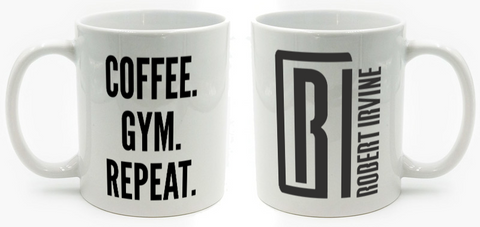Coffee. Gym. Repeat. 11oz Mug