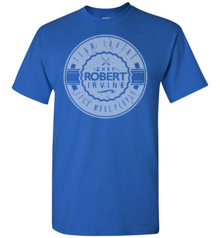 "*NEW* Team Irvine ""Let's Move People"" - Royal Blue - T-Shirt (Youth, Mens, Ladies)"