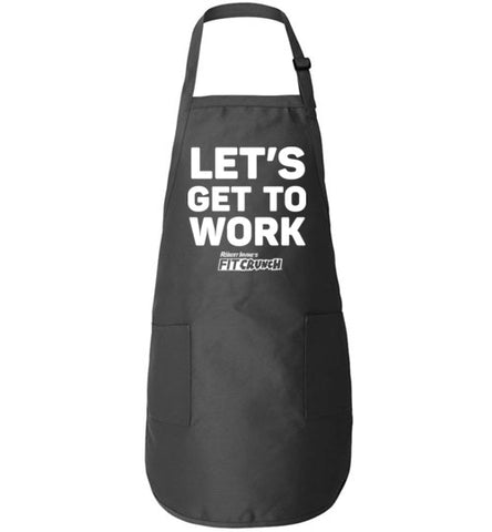 FitCrunch - Let's Get To Work Apron