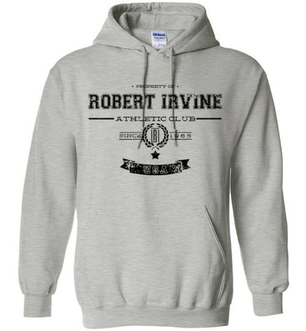 *NEW* Robert Irvine Athletic Club - Black Logo - Hoodie (Youth, Mens, Ladies)