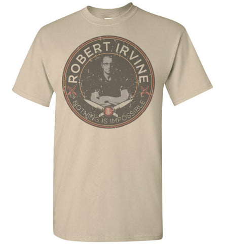 "*NEW* Robert Irvine ""Nothing Is Impossible"" - Multiple Colors - T-Shirt (Youth, Mens, Ladies)"