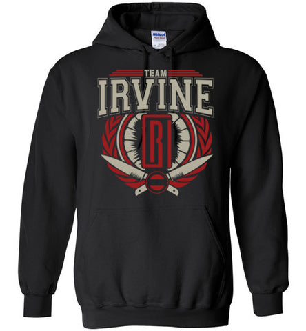 "*NEW* Team Irvine ""RI"" - Black - Hoodie"