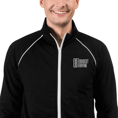 Robert Irvine Piped Fleece Jacket
