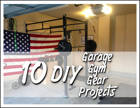 10 diy garage gym gear projects  survival and cross