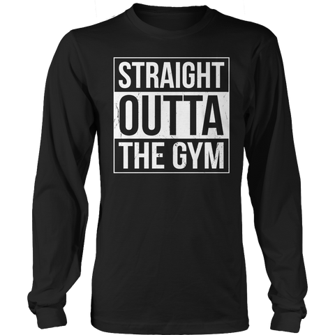 Limited Edition - Hoodie - Straight Outta The Gym