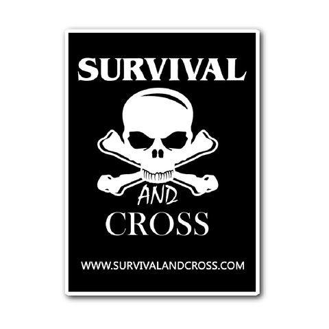 Survival and Cross Sticker