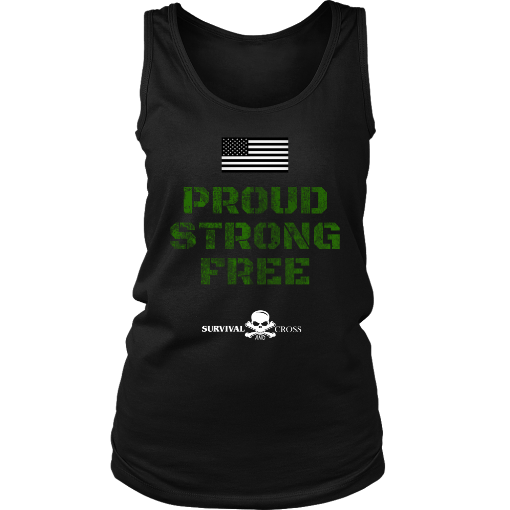Proud, Strong, Free - T-Shirt