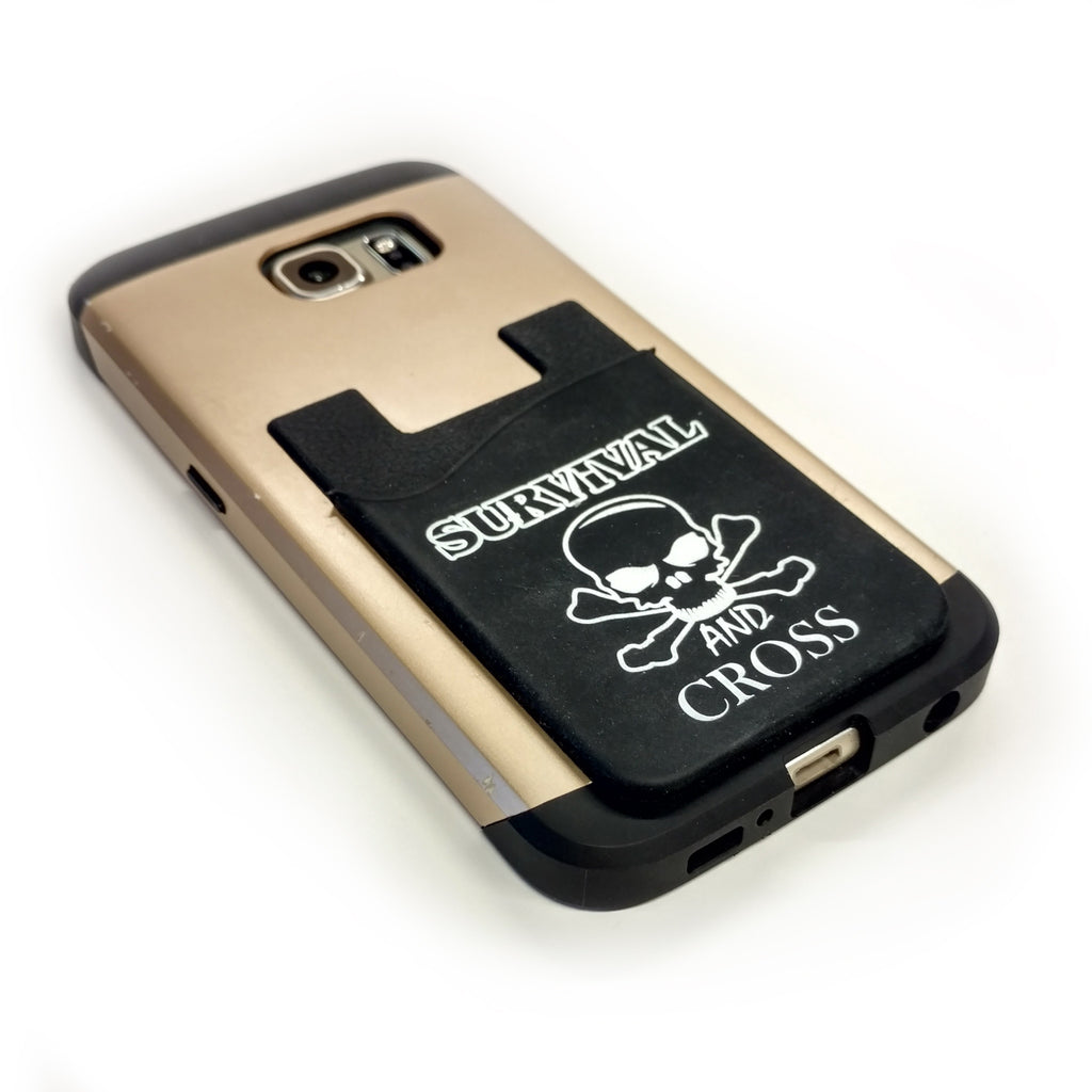 Cell Phone Silicon Card Holder