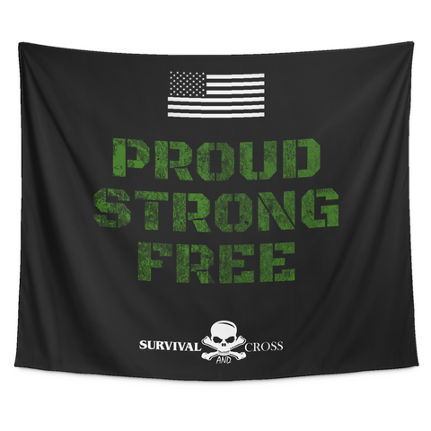 Proud, Strong, Free - Tapestry