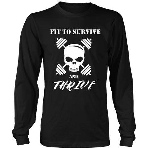 Survival and Cross - Fit To Survive and Thrive