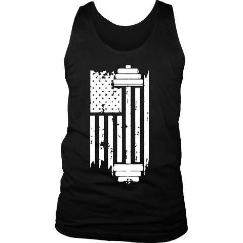 Limited Edition - American Flag and Barbell
