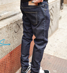 Guys Regular Fit Blue Denim