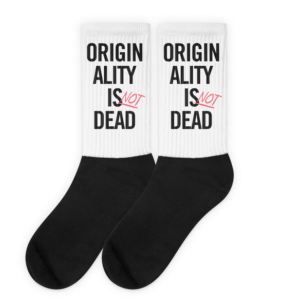 Originality is Dead socks