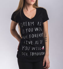 Dreamers Live On Tee