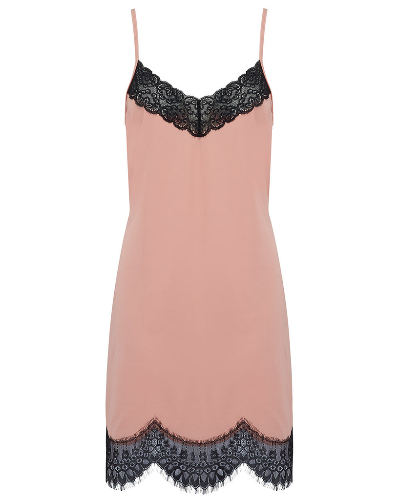 Naomi Chemise- Dusty Pink - Trouvai Lingerie