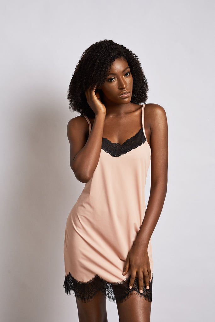 Naomi Chemise- Dusty Pink