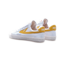 WARRIOR SHOES WB-1 // WHITE YELLOW