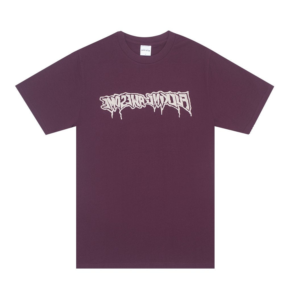 FUCKING AWESOME DRIP STAMP S/S TEE // MAROON