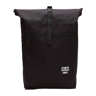 OBEY CONDITIONS ROLL TOP BAG III // BLACK