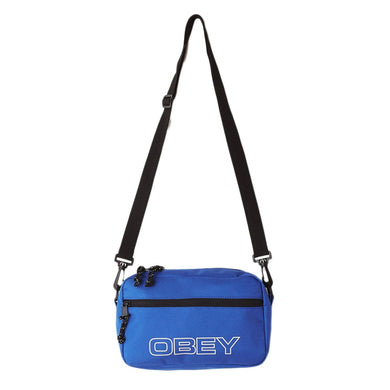 OBEY WASTED SLING BAG // BLUE