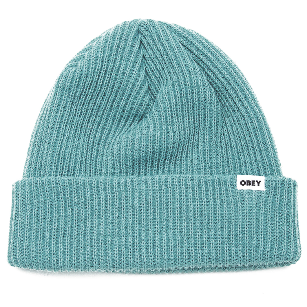 OBEY BOLD BEANIE // OIL BLUE