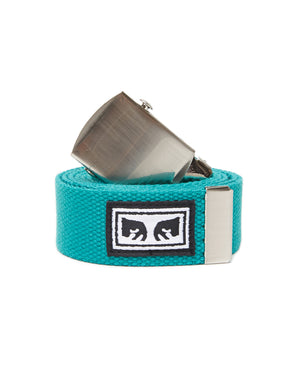 OBEY BIG BOY WEB BELT // TEAL