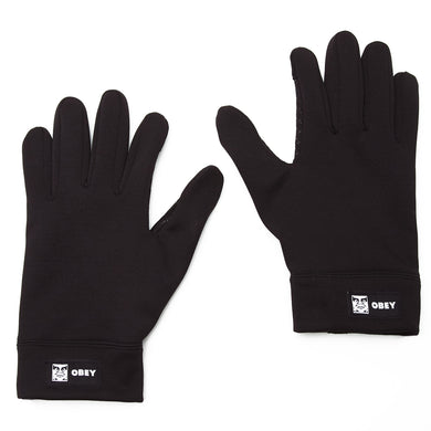 OBEY BOLD GLOVES // BLACK