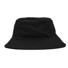 OBEY ROYAL REVERSIBLE BUCKET HAT // BLACK