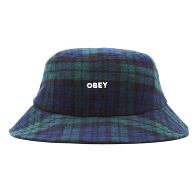 OBEY RHYE BUCKET HAT // BLACK