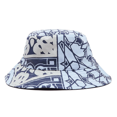 OBEY BANDANA BUCKET HAT // NAVY BANDANA / BLACK