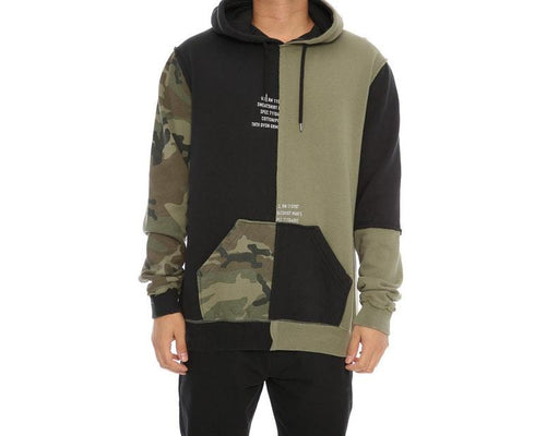 10.DEEP SURPLUS HOODIE // ARMY GREEN-The Collateral