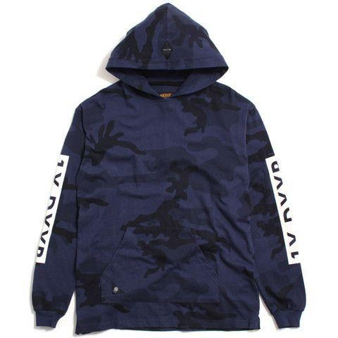 10.DEEP WINTER WARS HOODIE // MIDNIGHT WOODLAND-The Collateral