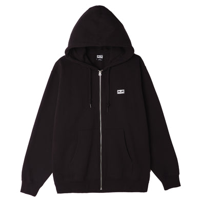 OBEY ALL EYEZ II ZIP HOOD // BLACK