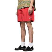 STÜSSY STOCK WATER SHORT // RED