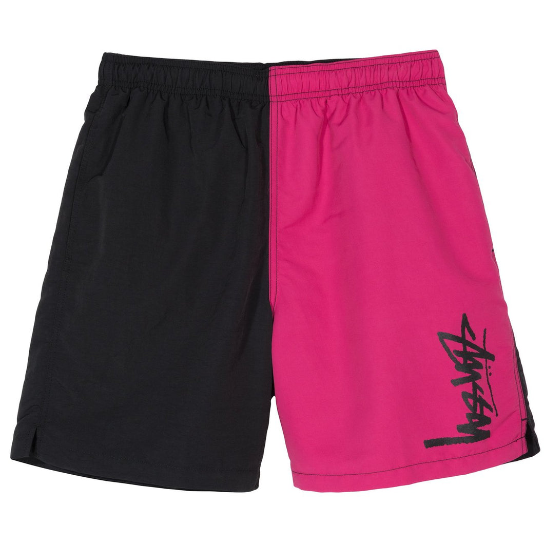 STÜSSY PANEL WATER SHORT // BLACK