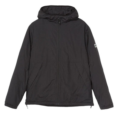 STÜSSY INSULATED HOODED JACKET // BLACK