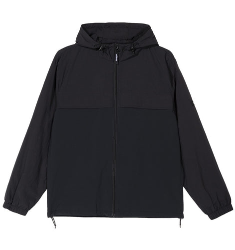 STÜSSY TREK JACKET // BLACK
